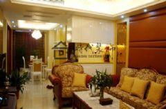 香格里拉19#405现代风格三居室