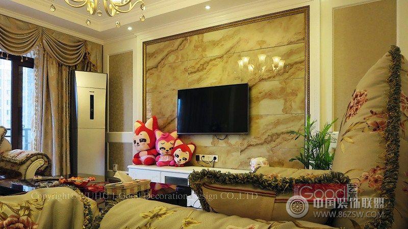 蕪湖偉星城王宅-客廳裝修圖片