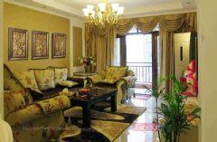 芜湖伟星城王宅欧式风格二居室