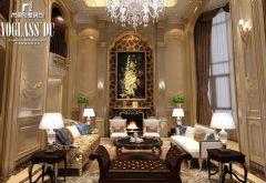 成都尚层装饰设计案例——城南逸家混搭风格别墅