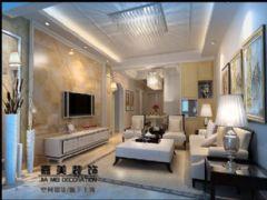 广陵世家欧式风格三居室