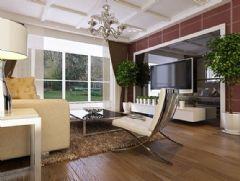 环球黄金水岸-二居室87平米-装修设计现代风格小户型