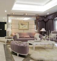 香港财富广场三居室-145平米-装修设计欧式风格三居室