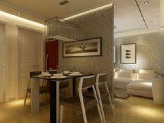 天马小区-二居室-80平米-装修设计现代风格小户型