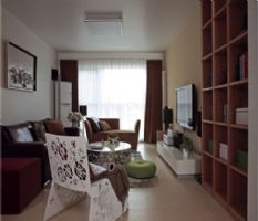天马小区-二居室-81平米-装修设计现代风格小户型