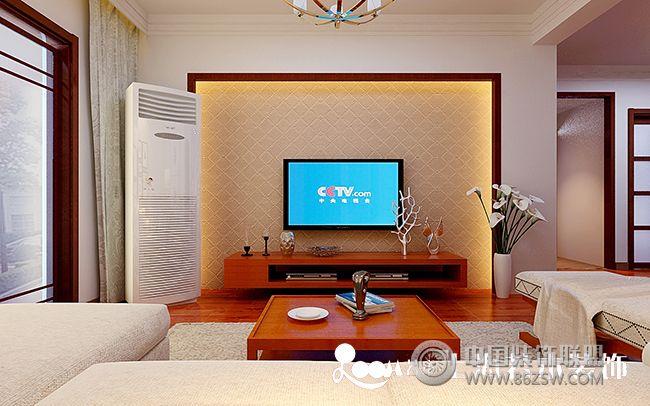 熔安家园整套大图展示_中式三居室装修效果图_八六()图片