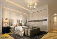 新城明珠现代风格四居室