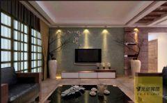 广弘城现代风格三居室