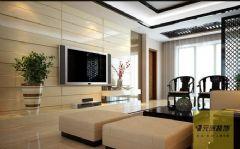 金地国际城现代风格三居室