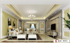龙湾国际欧式风格三居室