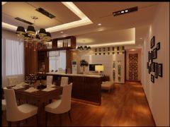 盛世家园现代风格三居室
