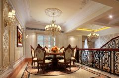水墨清华美式风格别墅