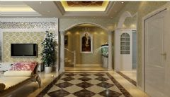 四季阳光别墅欧式风格六居室