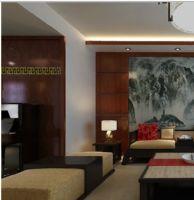 淮北元洲装饰案例-汇景花园150平现代中式设计案例赏析中式风格四居室