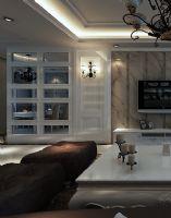 元洲装饰 -翡翠岛设计案例现代风格四居室