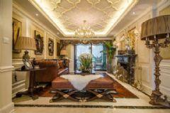 天瑞名城-三居室-139平米-装修设计欧式风格三居室