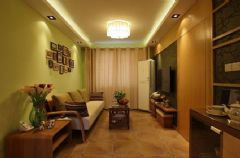 新罗小镇-一居室-60平米-装修设计现代风格小户型