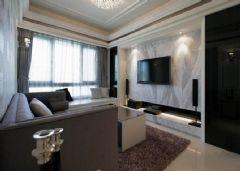 海亮御府-二居室-73平米-装修设计混搭风格小户型