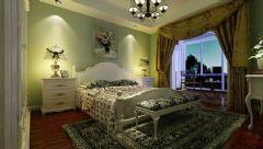 尚鼎国际三居室-110平米-装修设计混搭风格三居室