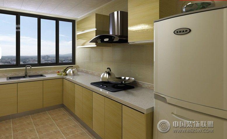 红光小区现代厨房装修图片