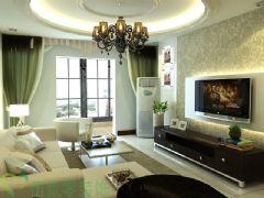 东城世家现代客厅装修图片