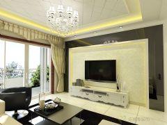 锦绣园现代风格二居室