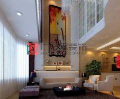 山语城楼中楼现代风格复式