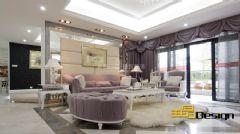 丹桂里之雅致主义欧式风格三居室