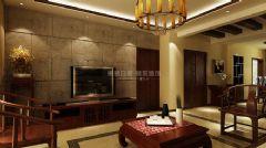 茂华紫苑公馆中式风格三居室