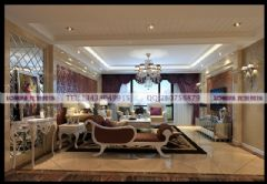 长城半岛城邦欧式风格案例欧式风格三居室