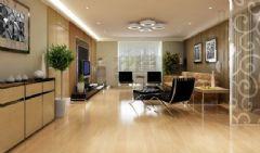 荆州人信汇现代风格三居室