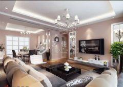 新城国际现代风格三居室