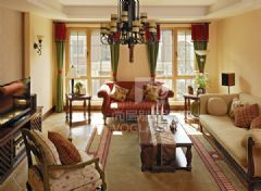 美式小清新-成都尚层装饰美式风格别墅