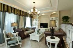 高端生活区成都尚层装饰欧式风格别墅