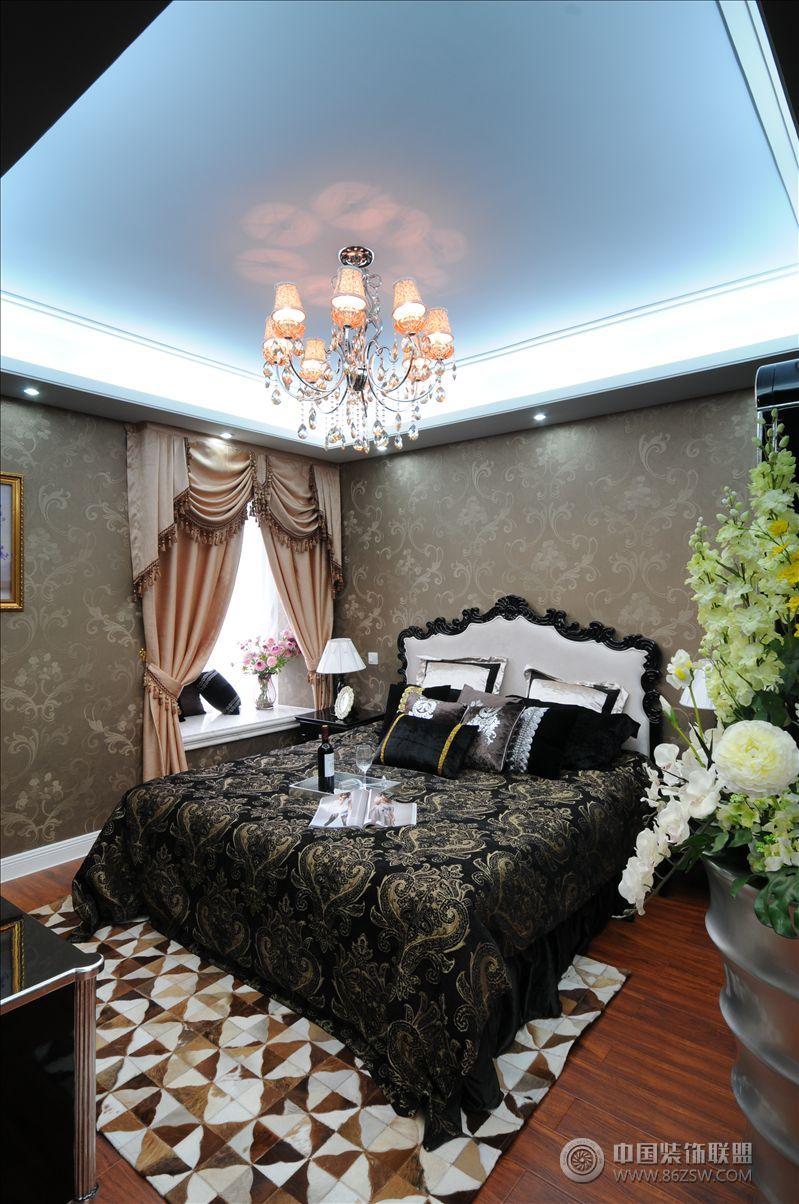 后现代奢华生活节奏-卧室装修图片