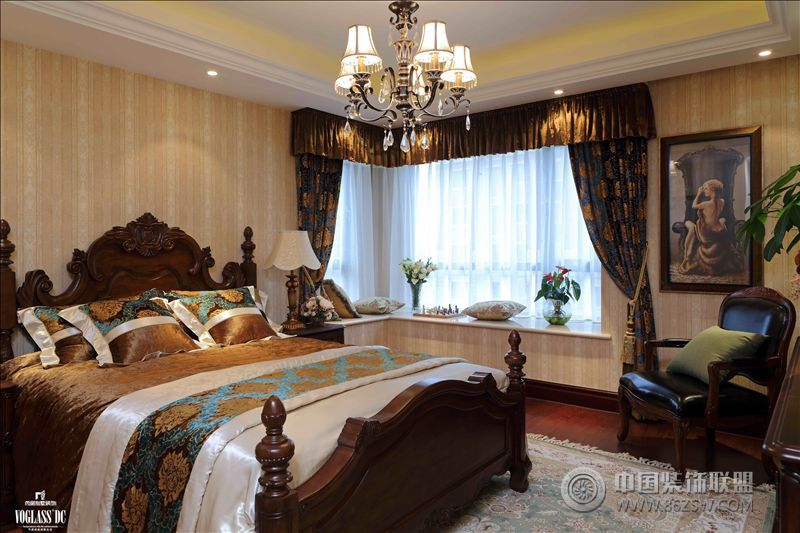 住宅区的别墅生活欧式卧室装修图片