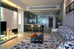 南湖名都现代风格三居室
