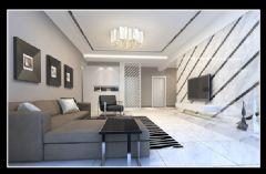 中地凯旋城现代风格四居室