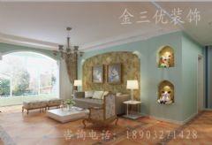 万泰丽景美式风格三居室