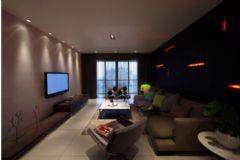 天俊蓝水湾现代风格三居室