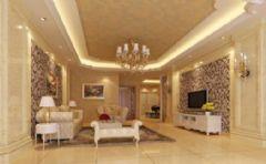 金盾小区中式风格三居室