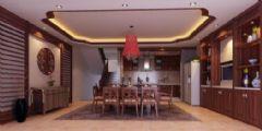 东城丽景餐厅中式风格