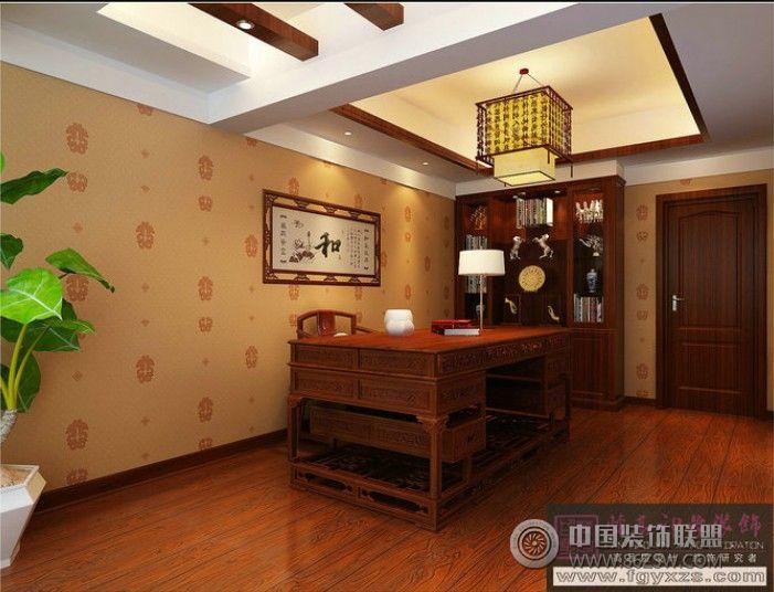 紫阳明星广场中式客厅装修图片