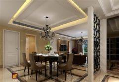 三清城—效果图现代风格三居室