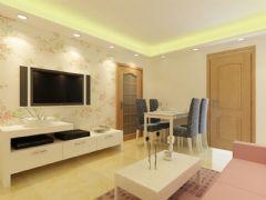 安联青年城案例展示现代风格二居室