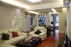 泰和家园现代风格二居室