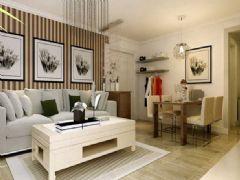 山伟学府花园-一居室-41平米-装修设计现代风格小户型