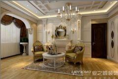 金地芙蓉世家古典客厅装修图片