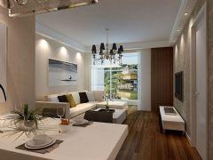 馨苑小区-二居室-90平米-装修设计现代风格小户型