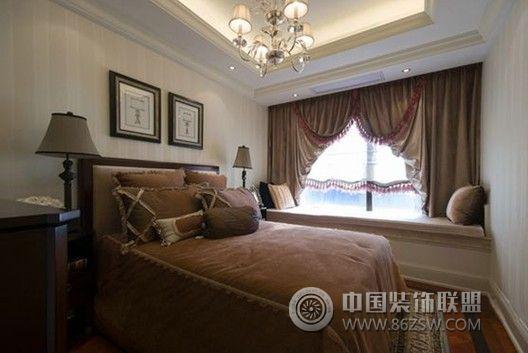 玉泉e区 三居室 139平米 装修设计欧式卧室装修图片